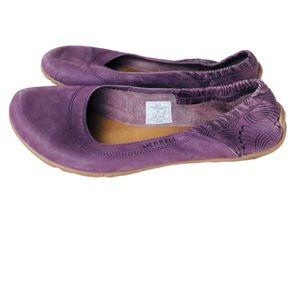 Merrell Barefoot Life Glimmer Ballet Flats-   7
